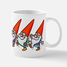 THREE GNOMES DANCING Mugs