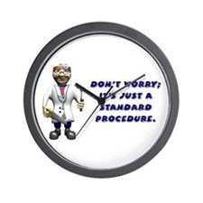 Surgery get well gifts Wall Clock