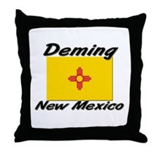 Deming New Mexico Throw Pillow