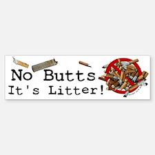 ButtUgly! Bumper Bumper Bumper Sticker