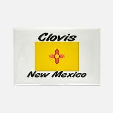 Clovis New Mexico Rectangle Magnet