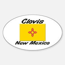 Clovis New Mexico Oval Decal