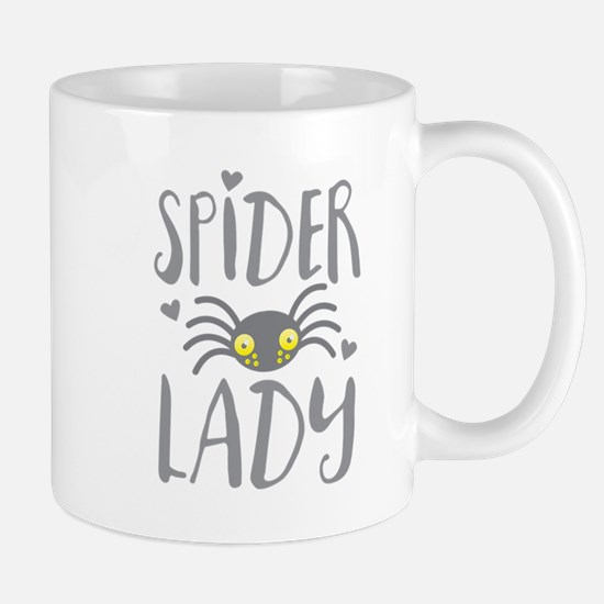 SPIDER LADY Mugs