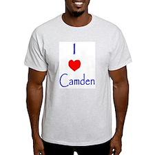 I love Camden Ash Grey T-Shirt