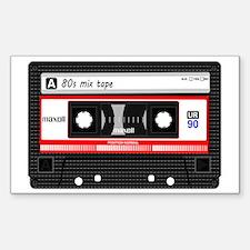 Unique Cassette Sticker (Rectangle)