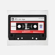 Cute Tape Throw Blanket