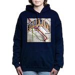 brookly logo Women's Hooded Sweatshirt