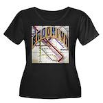 brookly logo Plus Size T-Shirt
