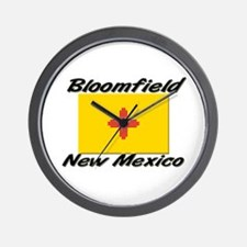 Bloomfield New Mexico Wall Clock