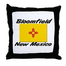 Bloomfield New Mexico Throw Pillow