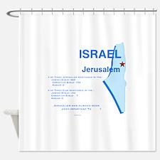 Jerusalem in the Major Religions Shower Curtain