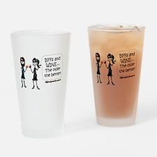BFFs and WINE Drinking Glass