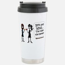 BFFs and WINE Travel Mug