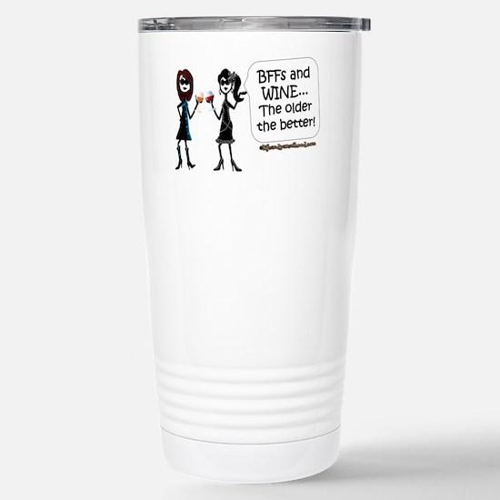 BFFs and WINE Travel Mug