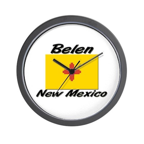 Belen New Mexico Wall Clock