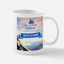 Wait & Hope Mugs