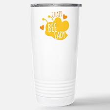Crazy Bee Lady Travel Mug
