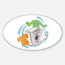 Washing Machine Decal