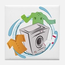 Washing Machine Tile Coaster