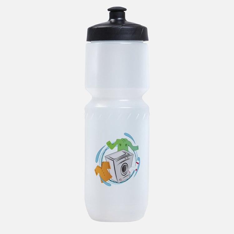 Washing Machine Sports Bottle