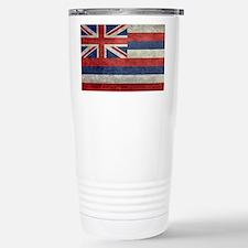 State Flag of Hawaii,   Stainless Steel Travel Mug