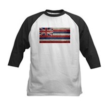 State Flag of Hawaii, retro style Baseball Jersey