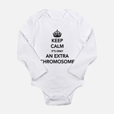 Cute Developmental Long Sleeve Infant Bodysuit
