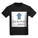 Big brother big sister Kids T-shirts (Dark)