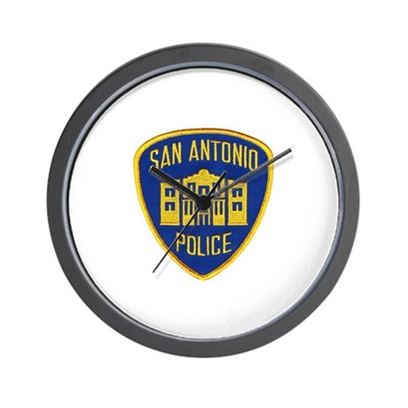 San Antonio Police Wall Clock