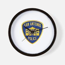 San Antonio Police Wall Clock