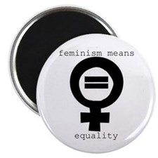 Magnet - Feminism means equality