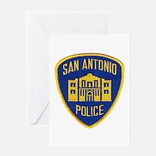 San Antonio Police Greeting Card
