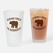Beary Fond Adirondacks Drinking Glass