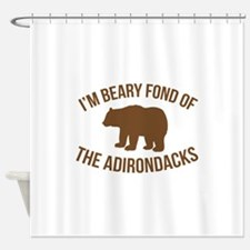 Beary Fond Adirondacks Shower Curtain