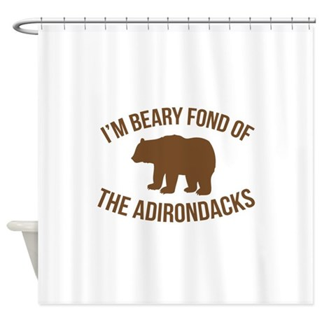Beary Fond Adirondacks Shower Curtain