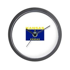 Kansas Wall Clock