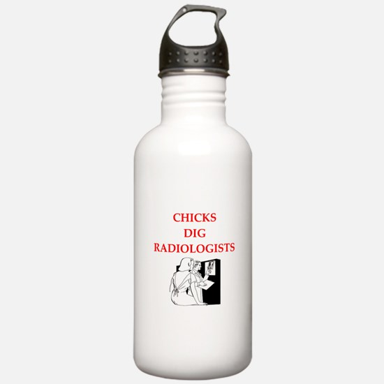 radiologists Water Bottle