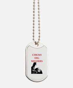 welder Dog Tags