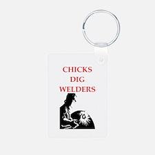 welder Keychains