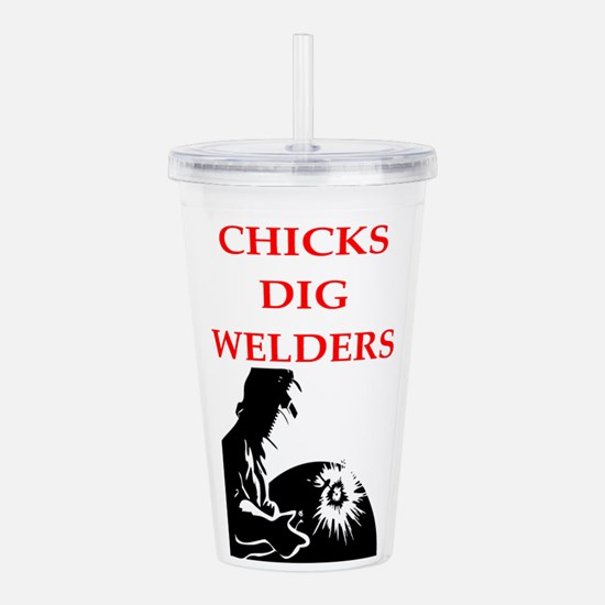 welder Acrylic Double-wall Tumbler