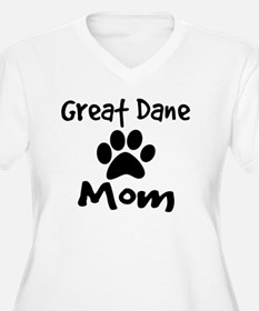Great Dane Mom Plus Size T-Shirt