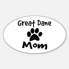 Great Dane Mom Decal