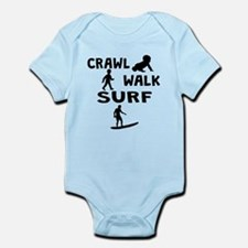 Crawl Walk Surf Body Suit