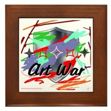 Unique Wars Framed Tile