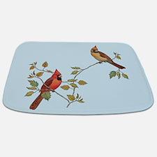 Cardinal Couple Bathmat