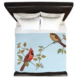 Cardinal bird Duvet Covers