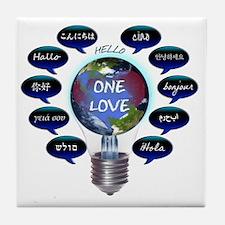 Cute Italian language Tile Coaster