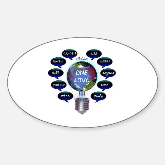 Unique Punjabi Sticker (Oval)