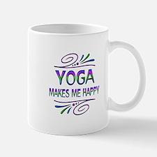 Yoga Makes Me Happy Mug