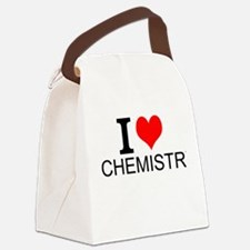 I Love Chemistry Canvas Lunch Bag